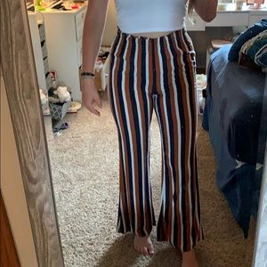 Forever 21 Flare Striped Pants!